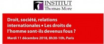 Rencontre à l'Institut Thomas More avec G. Puppinck