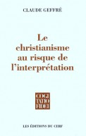 Le Christianisme au risque de l'interprétation