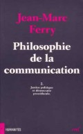 Philosophie de la communication, II