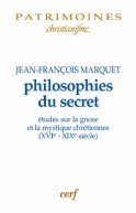 Philosophies du secret