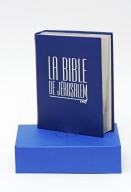 Bible de Jérusalem [Major cuir bleu]