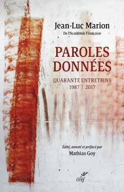 Paroles données Book Cover