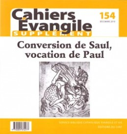 SCE-154 Conversion de Saul, Vocation de Paul