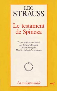 Le Testament de Spinoza
