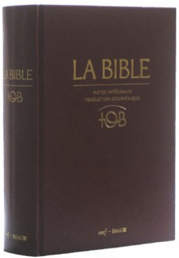 BIBLE TOB TÉLÉCHARGER