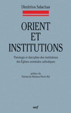 Orient et institutions